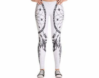 Dreamcatcher Yoga Leggings, Women's Pants for Workouts and Running