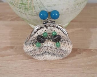 coin purse crochet and charms