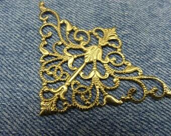 Decorative Metal item - antique gold