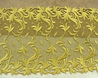 CALAIS lace / lace-21 cm - gold