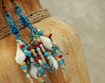 Ceto * ocean amulet - earrings II.