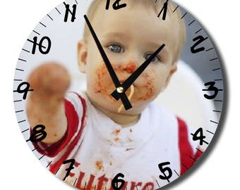 Custom wall clock diameter 29cm