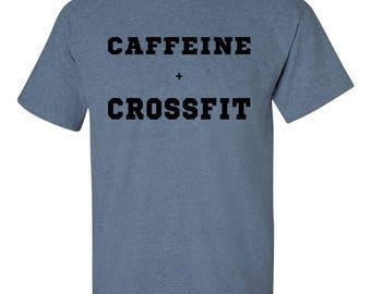 Caffeine + Crossfit Tee