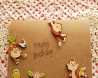 Happy Birthday to my little monkey