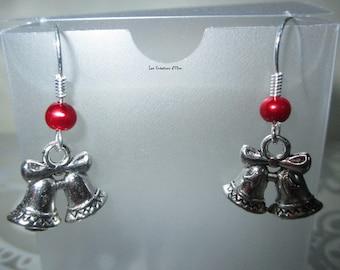 Earrings dangling special Christmas