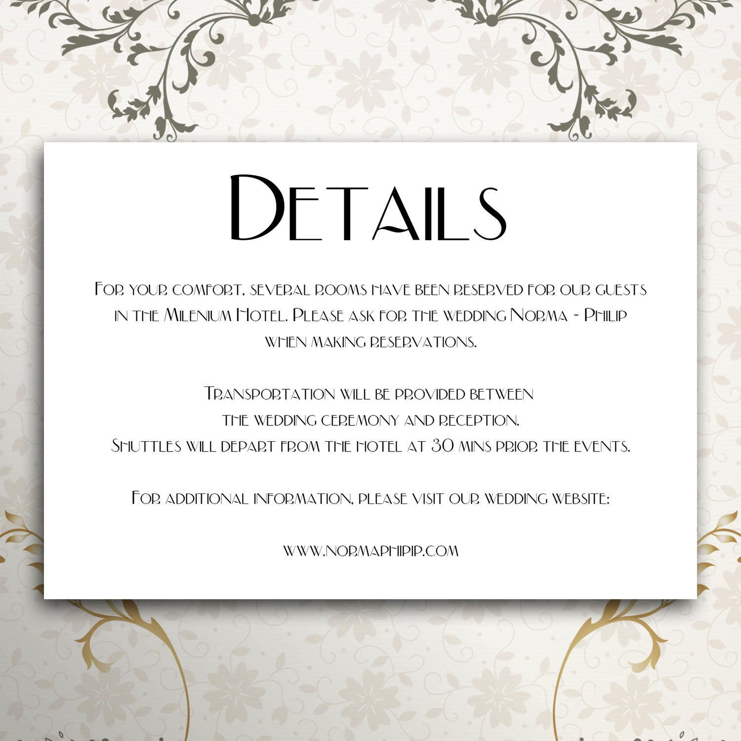 Details card details template wedding invitation wedding details details card details template wedding invitation wedding details template wedding invitation instand stopboris Images