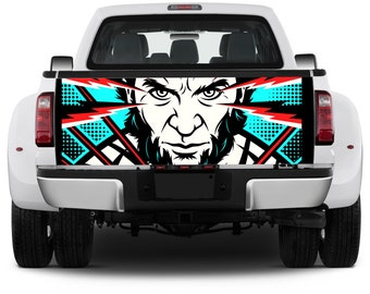 Truck Tailgate Comics Graphics X-men Wolverine Vinyl Decal Full color Sticker Wrap