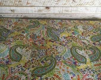 Beautiful Kantha Quilt