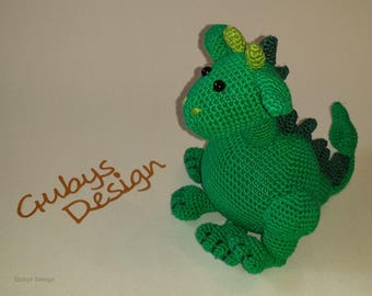 "Crocheted Dragon ""Justus"""