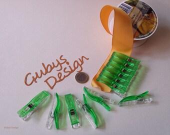12 Jumbo wonder clips, Princes Prodige, clip Prodigiosos, fabric Staples