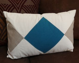 Linen, hemp and cotton Cushion cover