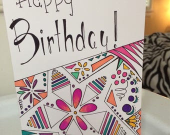 Custom Made Birthday Cards