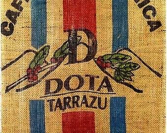 Coffee Bean Bags, not framed Coffee Bags /Coffee Lover Gift/Coffee Wall Art/Coffee Shop Decor/Coffee Sign