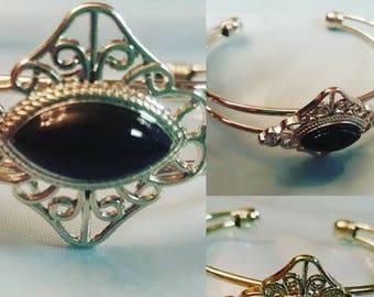 Genuine Black Onyx Bracelet