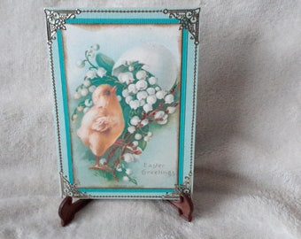 Small chick Easter card
