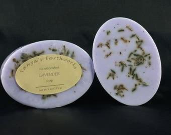 Lavender Soap, Handmade Soap, 5oz