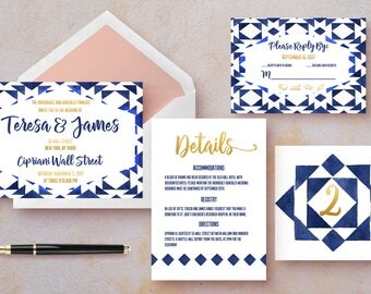 Full Wedding Suite | Teresa | DIY Printable
