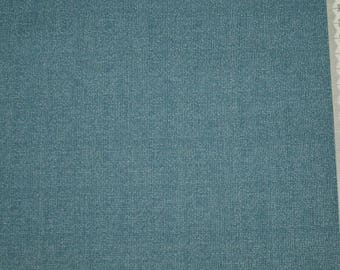 "Embroidery blue patchwork - Andover - ""Wickerweave"" - 10 faux plain."