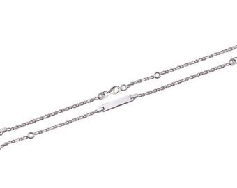 Mixed chain Silver 925/000 15 cm bracelet / 53185415