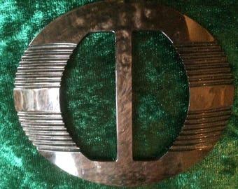 vintage bakelite buckle