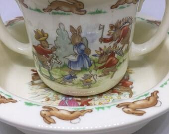 Vintage Royal Doulton Bunnykins set