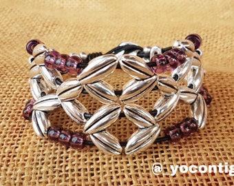 Boho woman bracelet