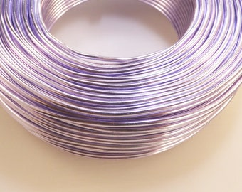 Aluminum - thickness 2 mm - purple wire