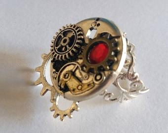 steampunk COG ring