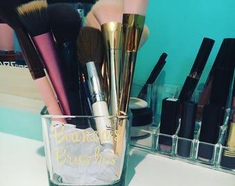 Personalized Make-up Brush Holder