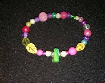 62. Beaded Bracelet (Elasticated)