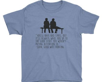 Good Will Hunting Youth Short Sleeve T-Shirt