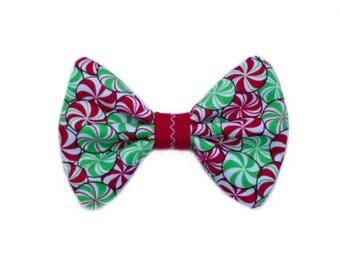 Peppermint Pet Bow Tie