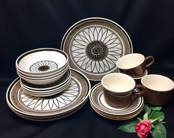 Royal China Cavalier Casa Del Sol Ironstone Service for 4 - 20 pieces
