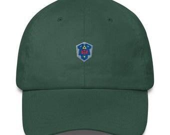 Zelda Hat - Zelda Cap - Zelda Shield Hat - Zelda Shield Cap - LOZ Hat - LOZ Cap - Hylian Shield Hat - Hylian Shield Cap - Link Hat - Zelda