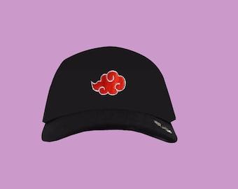 Naruto akatsuki red cloud hat