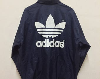 Vintage Adidas Trefoil  Big Logo Windbreaker Jacket