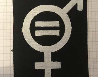 Equality Canvas Patch