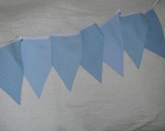 Star and polka dot flags Garland