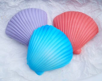 Clam Shell Soap, Novelty Seaside Gift Soap