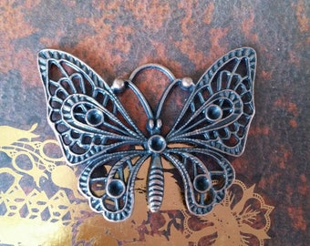Bronze Butterfly 48X38mm pendant very nice quality