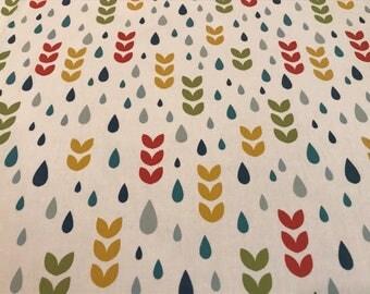 Spring Raindrop fabric