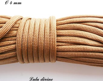 Cord / Paracord 4 mm 550: Brown