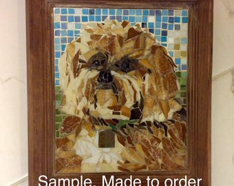 Mosaic Pet Portraits