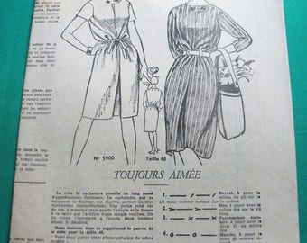 """Old 1964 """"women of today"""" sewing pattern No. 976 - Vintage"""