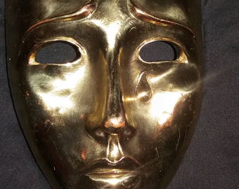 """Golden mask Theatre  of pain  4/8 """" thick"""