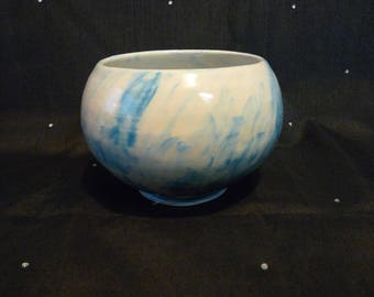 Blue and grey small bowl