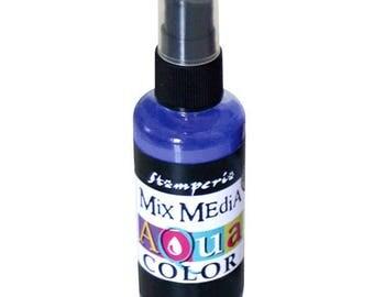 Purple Aquacolor in spray bottle