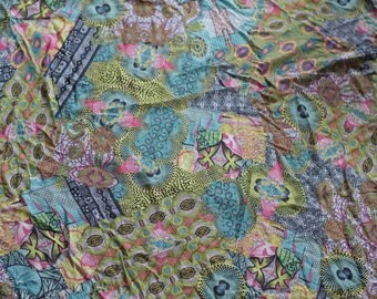 Colorful polyester fabric