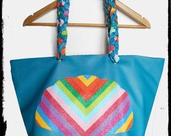 """""""Beach"""" seashell beach bag"""