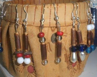 "Earrings collection ""Pommedepin"
